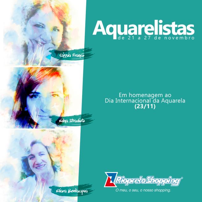 as aquarelistas banner